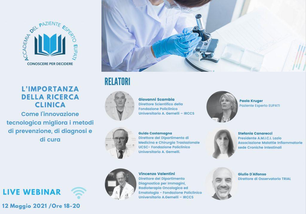 Webinar Ricerca Clinica