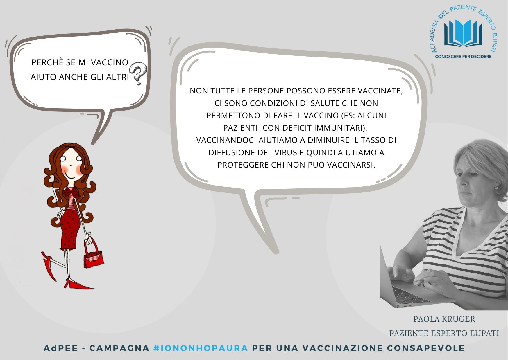 Vaccini Paola Kruger